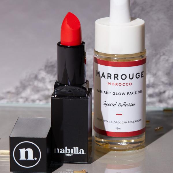 1 huile pour le visage + 1 lipstick au choix