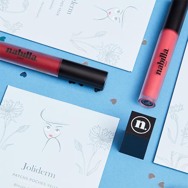 1 lipstick + 1 boîte patchs yeux
