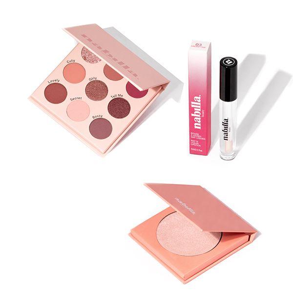 total look rose 4 produits